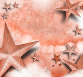Pink Star Love Background — 图库照片