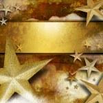 Golden Sparkle Star Background — Stock Photo #8907999