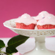 Royalty-Free Stock Photo: Pink cupcakes