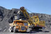 Načítání uhlí. — Stock fotografie