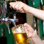 Draft beer — Stock Photo #10476230