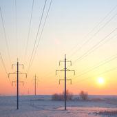 Cold sunrise — Stock Photo