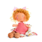 Doll with nuts — Stock Photo