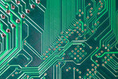 Printed circuit — Foto Stock