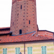Vercelli, Avogadro tower — Stock Photo