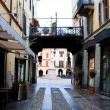 Vercelli street - Stock Photo