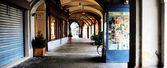 Vercelli street — Stock Photo