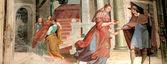 Malba v sacro monte orta, itálie — Stock fotografie