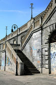 Turin, grafiti — Stok fotoğraf