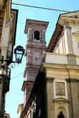 Turin, gamla kyrkan — Stockfoto