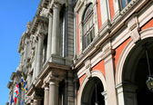 Turin, view of Palazzo Carignano — Stock Photo