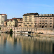 Stock Photo: Turin view of Po