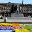 Turin, PiazzCastello — Stock Photo #9893174