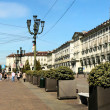 Stock Photo: Turin, Piazza Vittorio Veneto