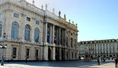 Turin, Palazzo Madama — Stock Photo