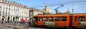 Turin tramvaya — Stok fotoğraf