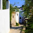 Panarea Street - Stock Photo