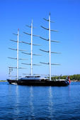 Falco Maltese luxury yacht — Stock Photo