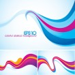Flow abstract background — Stock Vector #9098081
