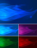 Abstract background - flame — Stock Vector