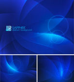 Sapphire abstract background — Stock Vector