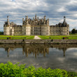 Stock Photo: Chateau de chambord francia