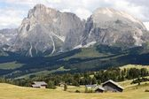 Landscape of the Alps — Stock Photo