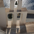 Stock Photo: Cycladic Bell tower with wonderful seview
