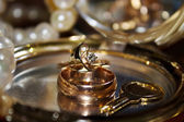 Gold jewelery — Stock Photo