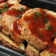 Stock Photo: Deli meatloaf