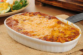 Taco casserole — Stock Photo