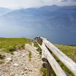 Stock Photo: Views of Lake Garda