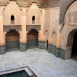 Ali Ben Youssef Madrassa in Marrakech, Morocco - Stock Photo