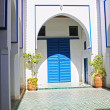 Bahia Palace in Marrakesh - Stock Photo
