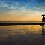 Rain man — Stock Photo #9166684