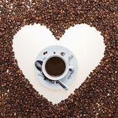 我爱咖啡 — 图库照片