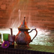 Moroccan tea — Stock Photo