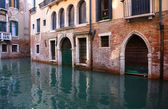 Canal in Venice — Стоковое фото
