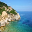 The beach of the island of Elba — Stock Photo