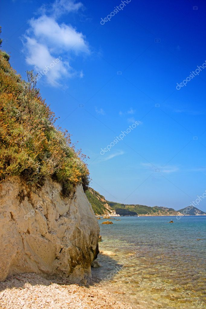 The beach of the island of Elba, Tuscany, Italy  Stock Photo #9393920