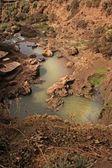 Manzara şelaleler ouzoud — Stok fotoğraf