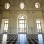 View of Galleria di Diana in Venaria Royal Palace — Stock Photo