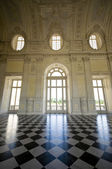 View of Galleria di Diana in Venaria Royal Palace — Stock Photo