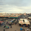 Royalty-Free Stock Photo: Jemaa El Fna square in Marrakech, Morocco