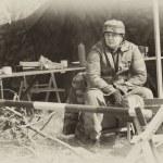 WW2 German Army soldier — Stock Photo #10496703