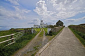 Path to lighthouse — Stock Photo