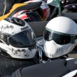 Stock Photo: Two helmets
