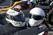 Two helmets — Stock Photo