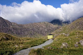 Der gelbe Hütte — Stockfoto