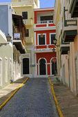 Old Puerto Rico Street — Stock Photo
